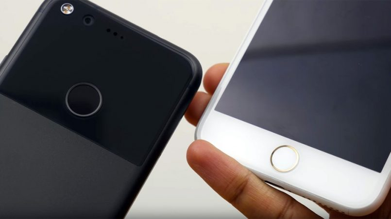 iPhone 8 vs. Google Pixel 2