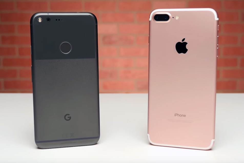 apple iphone 8 vs google pixel 2 comparison   iphone8